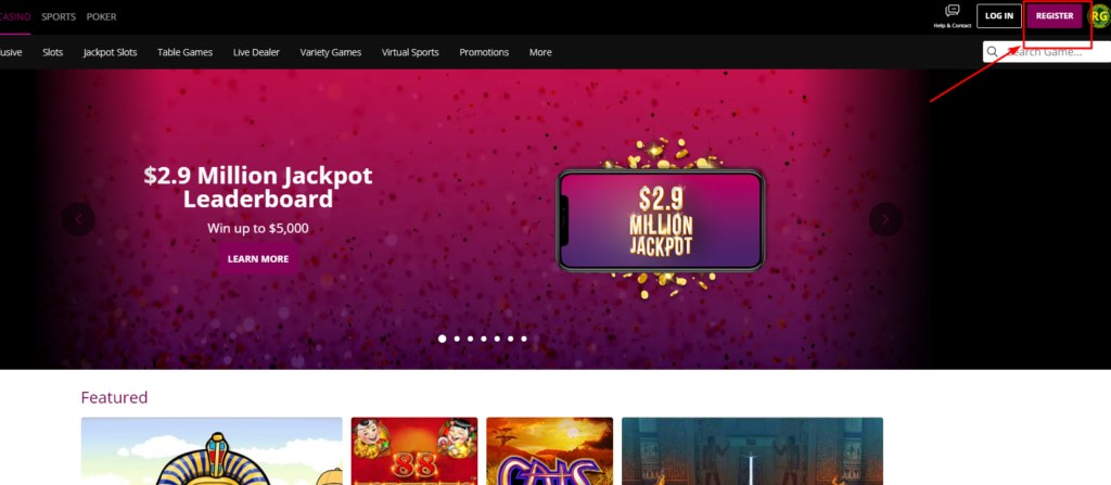 New Jersey Borgata Online Casino Screenshot