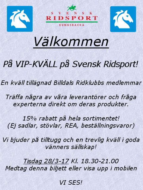 Billdal VIP-kväll2 2017
